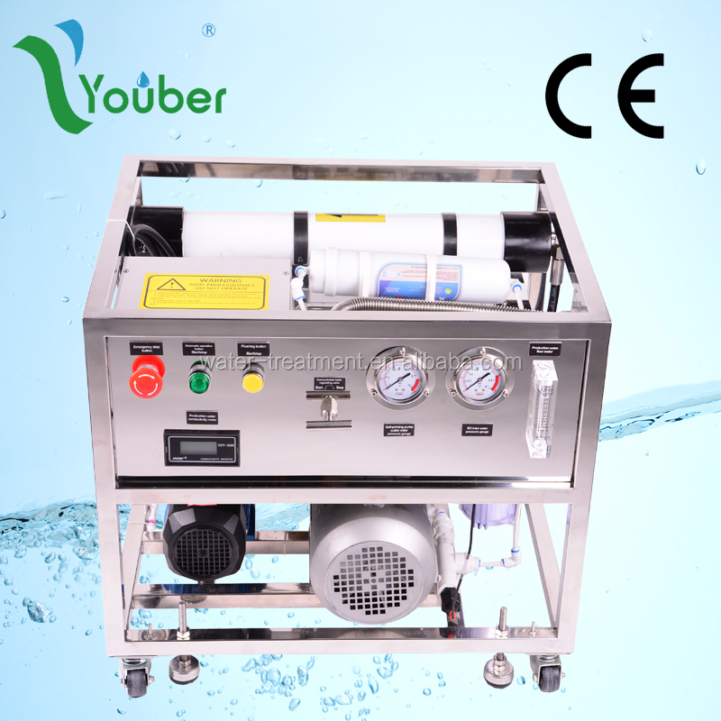 Water treatment system for desalination/salt water treatment system