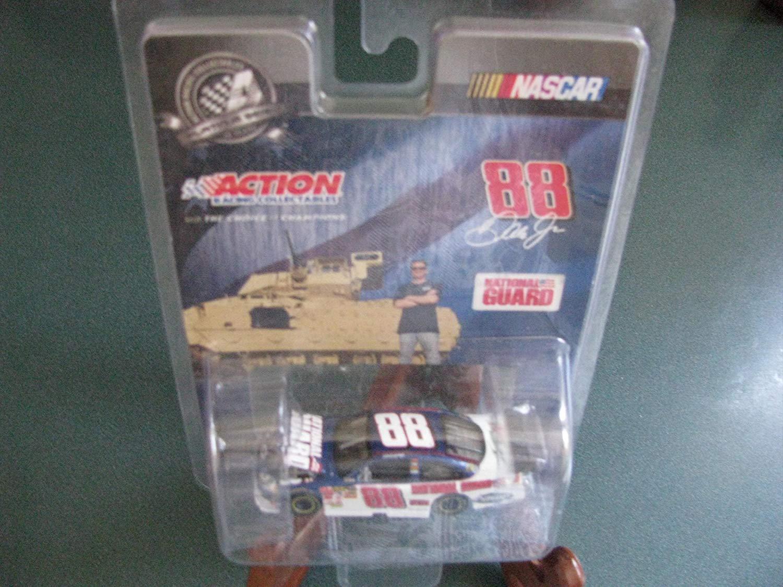 2008 NASCAR Dale Earnhardt Jr. #88 National Guard 1/64 Hood Open Car Action Racing Collectables