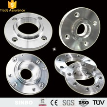 Precision CNC machining turning parts carbon steel flange adapter/pipe fittings flange auto spare parts