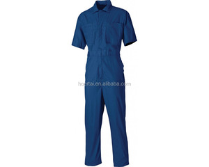 Custom Summer short sleeve coverall; dungaree; labour suit; work cloths OEM
