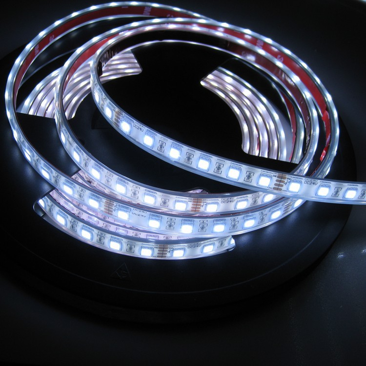 Led strip with Silicon tube 5050 SMD 24v IP68 strips waterproof led light strip
