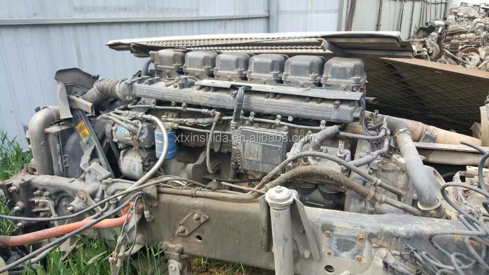 Used DC12 Engine 380HP For Scania Truck