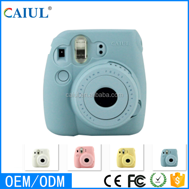 Caiul mini8+ colore speciale luminoso blu gelatina set per instax