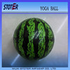 ecofriendly kids PVC bouncing ball , watermelon ball , kids exercise ball
