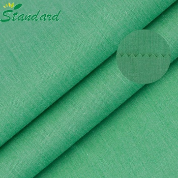 High Quality 105gsm Cotton Polyester cvc Fabric For Shirt