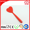 Heat Resistant Silicone Cooking Tools Type Heart Shape Silicone Turner Spatulas, Non-stick Silicone Pancake Turner Spatulas