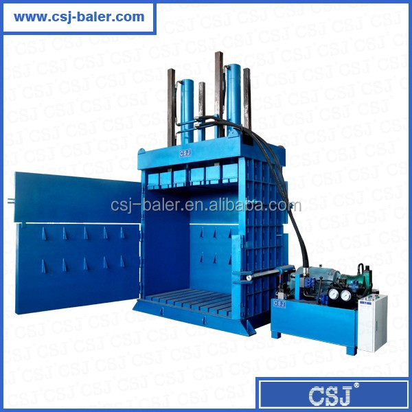 HSM quality hydraulic baler for plastic bottle