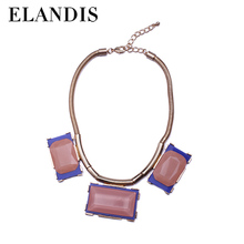 E-ELANDIS New Fashion accessorizing Statement Necklace Chain big exaggerated necklace NL14662-1