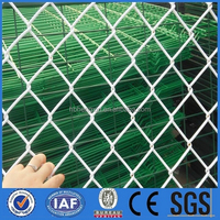 High Quality Decorative Sports Ground &Garden fence used chain link fence/used chain link fence gates /diamond mesh fence