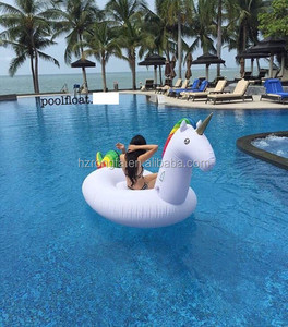 Hot Selling Inflatable Swimming Pool Float/Swan Pool Float/Unicorn Floating Row Water