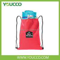 The cheapest backpack wholesale Custom Cotton drawstring bags for promotional gift
