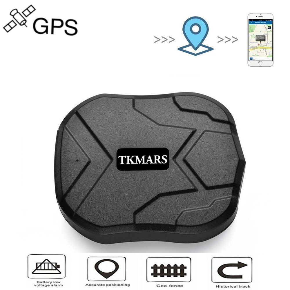 Car Tracker,Anti-Lost Waterproof GPS Tracker 120 days Standby GSM/GPRS Real Time Tracking Device Locator for Cars SUVs Motorcycles Trucks Vehicles