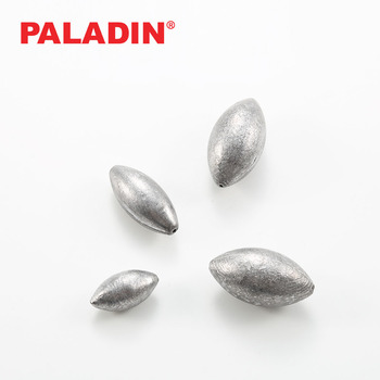 PALADIN 0.5g--200g Egg Olive Fishing Lead Sinkers / Weights for Saltwater Freshwater Fishing Tackle Accessories
