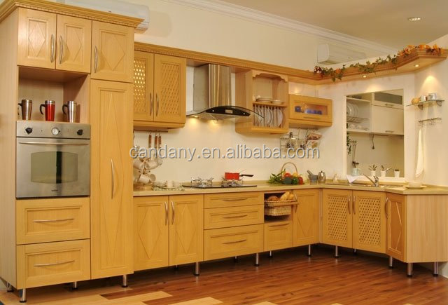 Hot sale classical solid wood kitchen cabinets for Kitchen cabinets jeddah