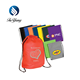 promotional good quality custom logo Econo Non-Woven String Backpack 80GSM