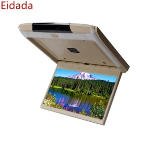 Eidada 15.6 inch Android HD 1080P Led Car Roof Mount Lcd Monitor support 4K TV Display