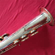 China fabriek levering sax hoge F # Straight <span class=keywords><strong>tenor</strong></span> sopraansaxofoon