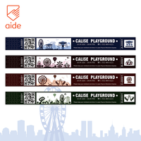 AIDE Custom Logo Tyvek Printable Entry Entrance Wristband Tickets For Concerts Children Park