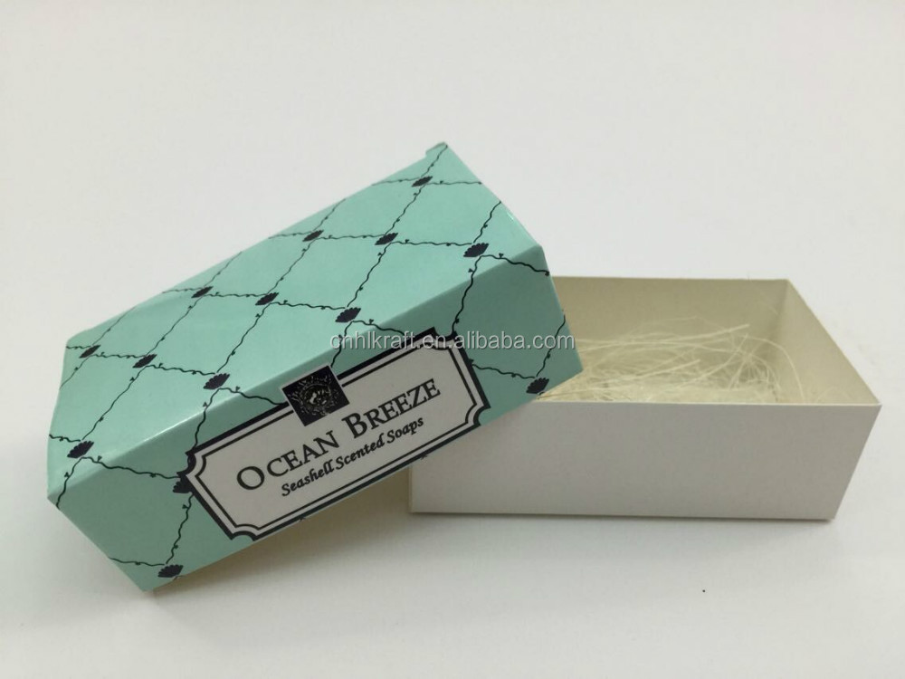 Hot sale printed cardboard packaging box for soap