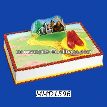 Pleasant Wizard Of Oz Ruby Red Slippers Birthday Cake Decoration Buy Funny Birthday Cards Online Bapapcheapnameinfo