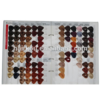 International Salon Hair Color Chart With 104 Colors For Professional Permanent Dye