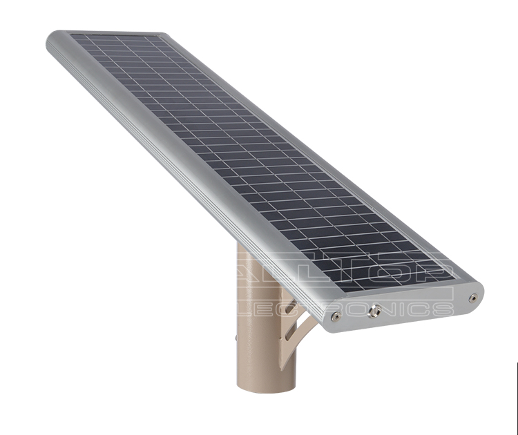 IP67 Waterproof bridgelux cob 15w high efficiency solar led street light