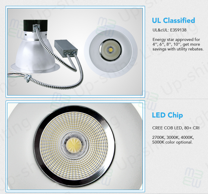 Mean Well 0-10v Dimmable Ac100-277v Fire-rated With Junction Box ...
