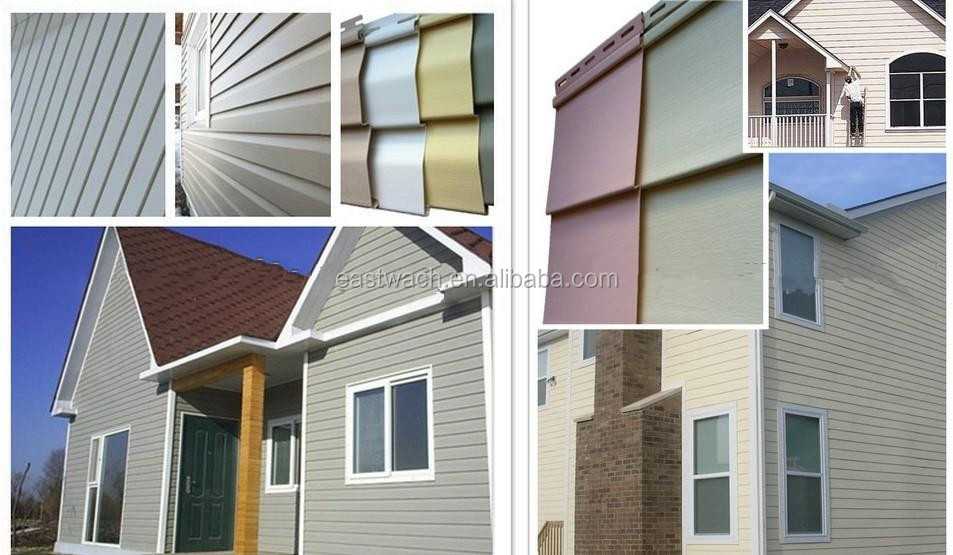 Canyo Vinyl Siding Pvc Siding Of External Wall Board Buy Exterior Wall Cladding Colored Wall