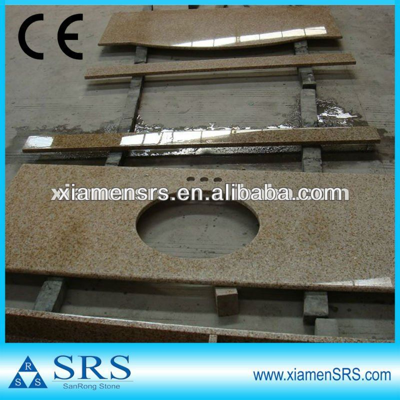 Gelb bad arbeitsplatte fertighaus granit produkt id 636356545 - Arbeitsplatte bad ...