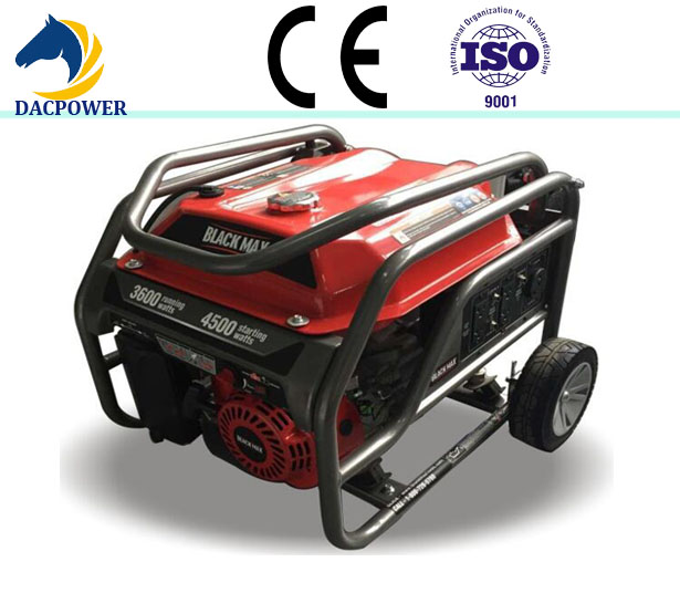 Home use three phase 5kw 6.25kva new type generator gasoline price for sale