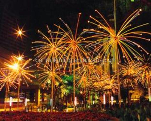 New Design Festive Street/garden Light Quality Color Led Fireworks ...