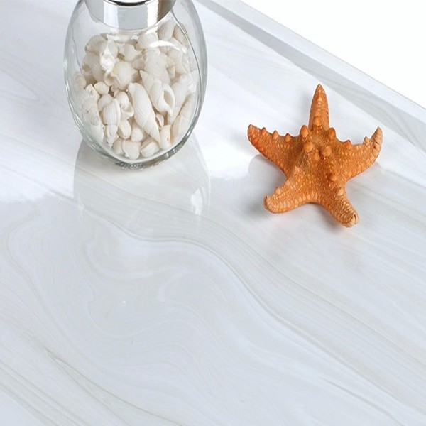 white crystal double loading polished porcelain tile, flooring tile, polished ceramic tile 600x600