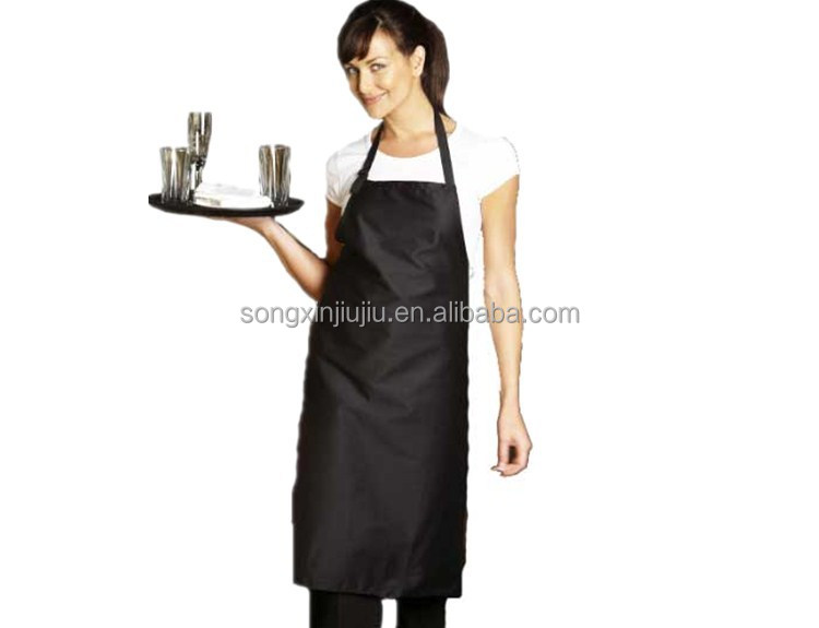 OEM Factory sexy restaurant waiters apron uniforms