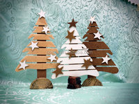 Reclaimed Wood Christmas Tree,christmas decoration,holiday