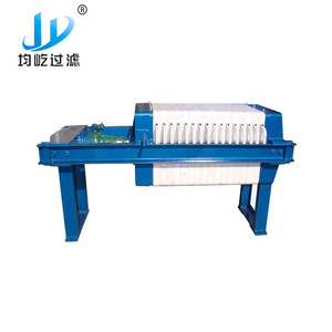 Small Manual Screw Jack Filter Press