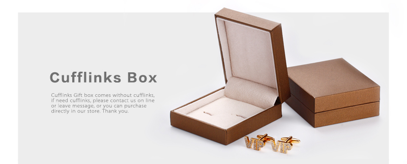 wholesale/Retail cufflink box in stocks
