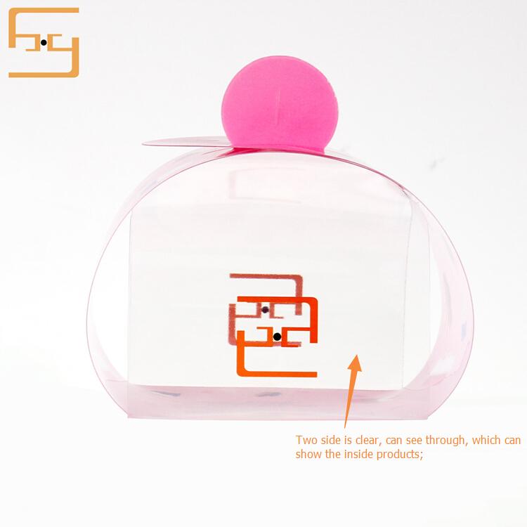 Small PET Clear Plastic Single Cake Box, PET Box for Cupcake