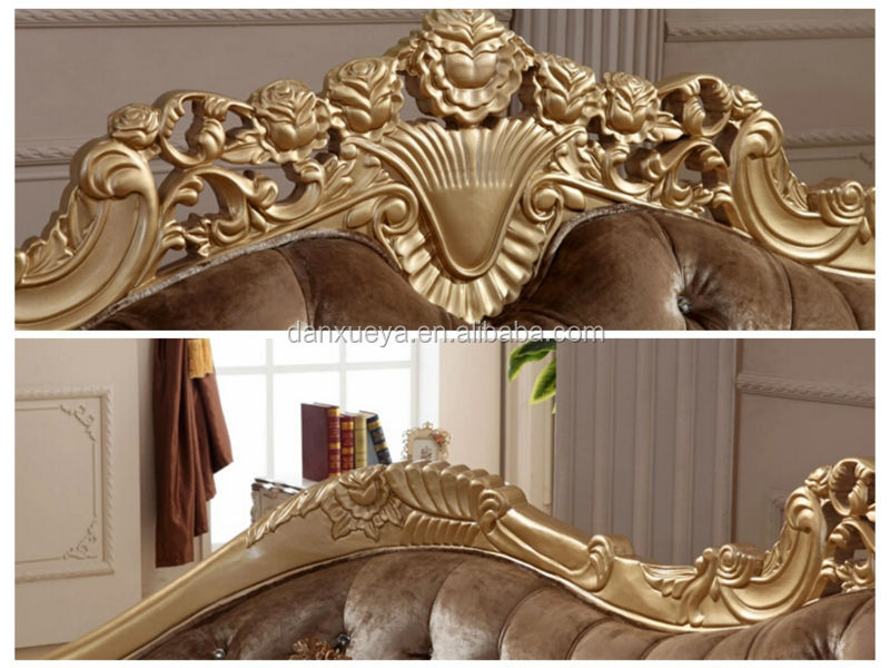 DanXueYa Russian style furniture ornate bedroom furniture high ...