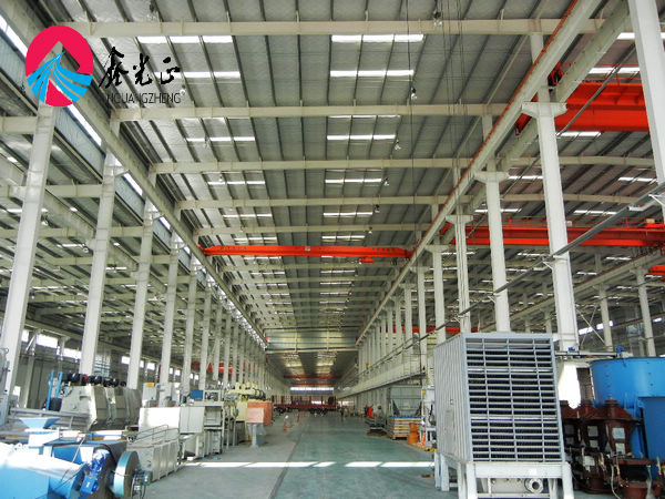 Light cheaper prefab refrigerated warehouse