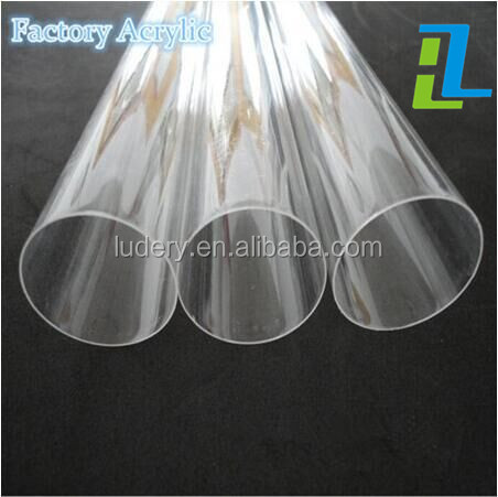 Clear Acrylic Perspex Tube 400mm 500mm 600mm lengths 75mm to 300mm Diameters