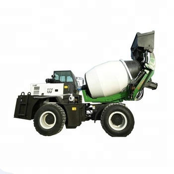 Rotating Cement Mixer New Self Loading Mobile Concrete Mixer