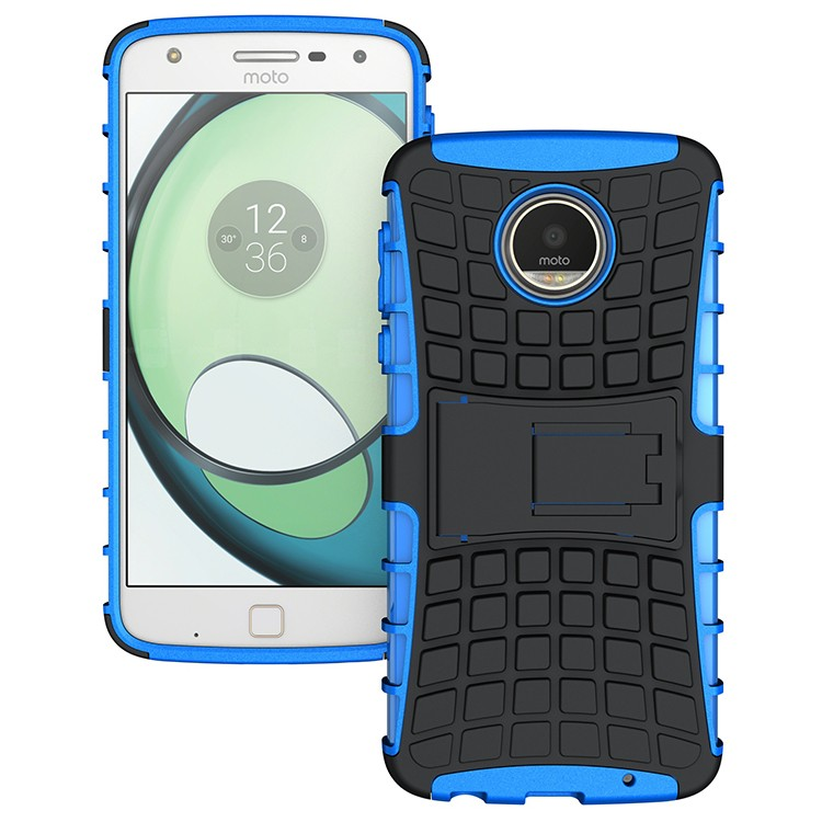 Hot special shockproof stand phone case for MOTO Z Play