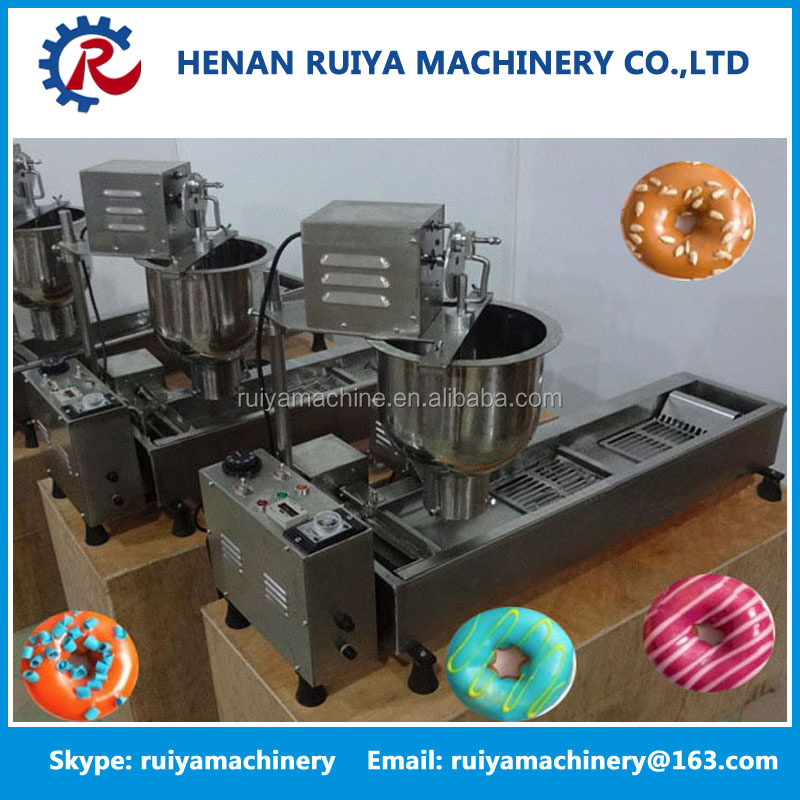 snack machine commercial donut making machine/donut maker