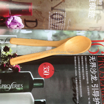 high quality tableware customized LOGO Tea Spoon Honey Spoon bamboo Wood Spoon