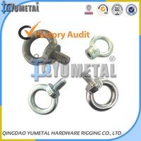 Electric Galvanized DIN580 & DIN582 Lifting Eye Bolt & Eye Nut