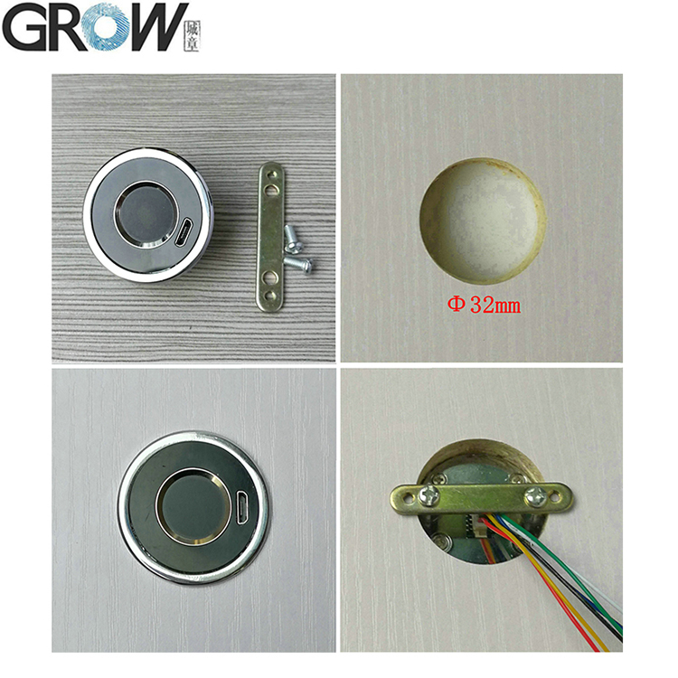 GROW K202+R501 DC12V Low Power Consumption Fingerprint Control Board Switch Controller+R501 Capacitive fingerprint sensor