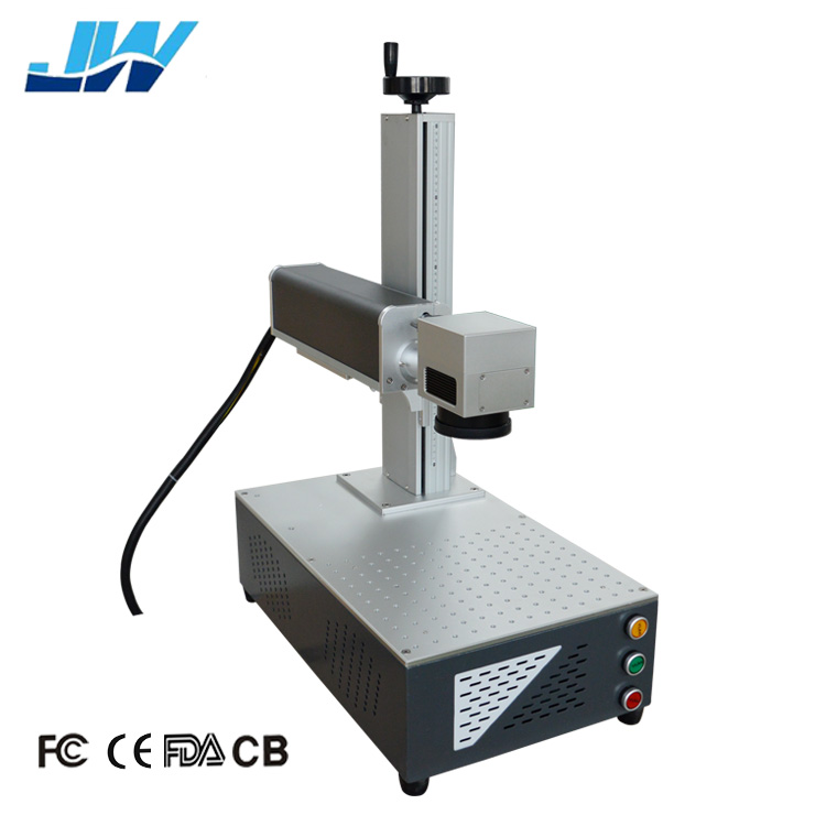 20w 30w 50w fiber laser marking machine with rotary