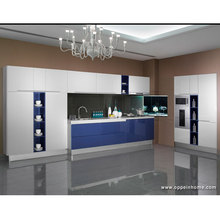 China Guangzhou OPPEIN Cheap Kitchen Sink Cabinets For Export