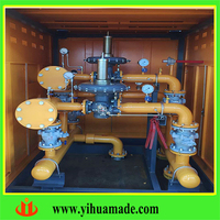 YIHUA cng pressure regulator/ reducing cabinet/station/ container