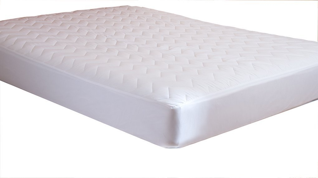 Waterguard – Fitted, Quilted Mattress Pad With 100% Cotton Top – Quiet! – Crib Sizes